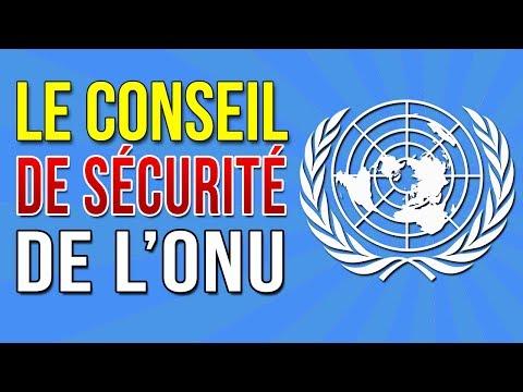 Le conseil de sécurité des Nations Unies (ONU) : qu'est ce que c'est?