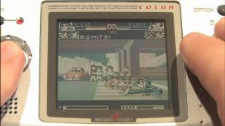 Classic Game Room - KING OF FIGHTERS R-2 Neo-Geo Pocket Color review