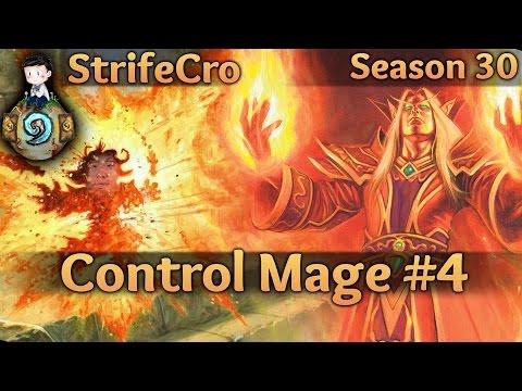 Hearthstone Control Mage S30 #4: I'll Burn Ya'll