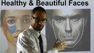 What Makes A Face Attractive, Beautiful, Charming, Healthy, Noticeable & Pretty by Dr Mike Mew