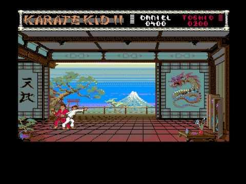 The Karate Kid Part II 1987 AMIGA