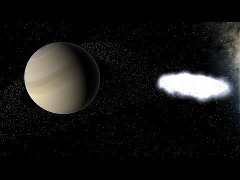 Black Hole Tears Apart Gas GIANTS! - Universe Sandbox |