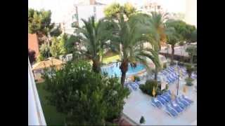 Испания Отдых в Коста Брава отель Oasis Park(Вид с балкона отеля Oasis Park. Отель 4 звезды, но это настоящие 4 звезды. Отель рекомендую, будут вопросы, пишите,..., 2013-09-30T21:23:56.000Z)