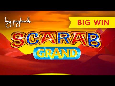 RARE BONUS TRIGGERED, YES! Scarab Grand Slot - BIG WIN SESSION, AWESOME! - 동영상