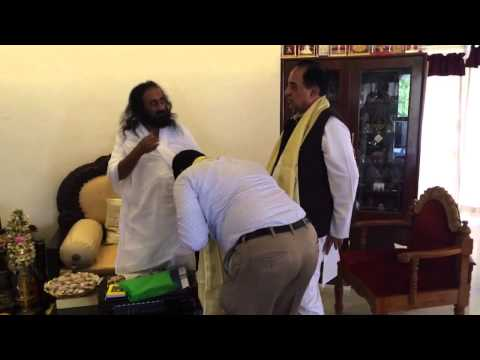 Sri Sri blessing
