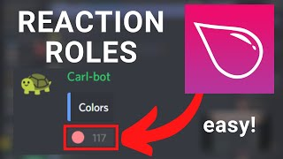 How To Set Up Reaction Role Discord Bot ✅ (Easy + Simple Roles 2020!)