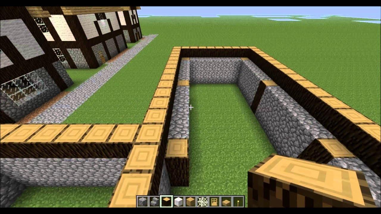 Minecraft Tutorial - #10 Come costruire una città medievale - una ...