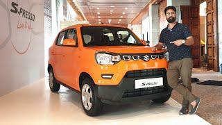 Maruti S-Presso Walkaround - Price & Details