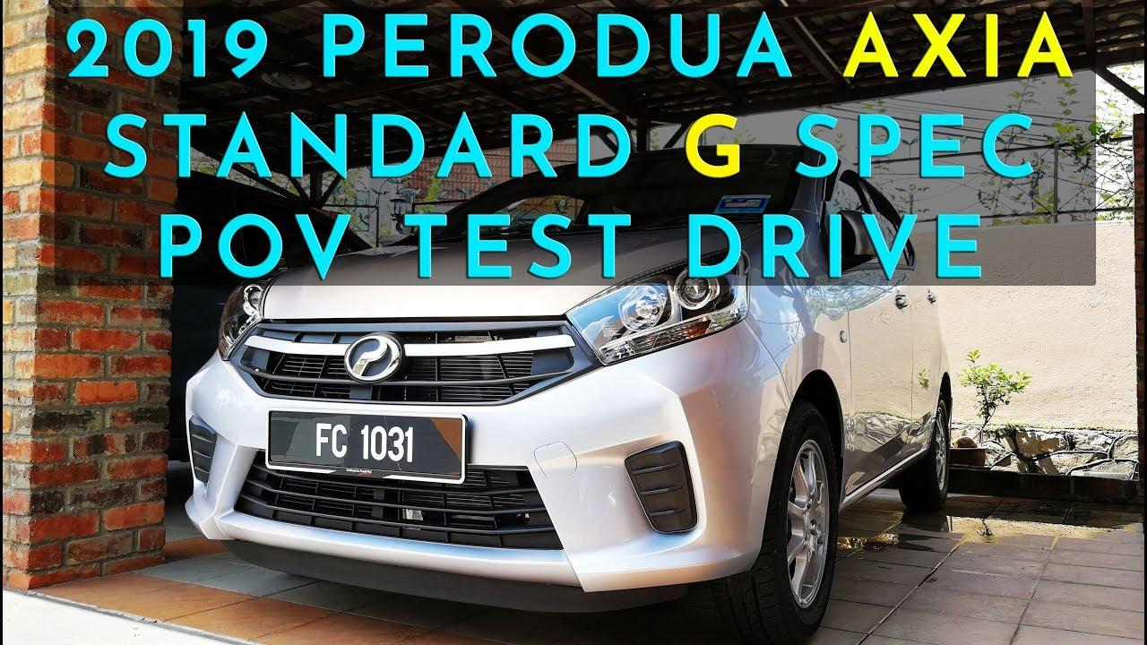 (2019) Malaysia Perodua Axia G spec POV Test Drive #peroduaaxia  #peroduamalaysia