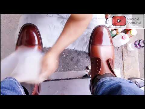 S3E45 MachineMan Shoe Shiner Brown Shoes #mexico /zap Cafés #mx #ASMR #shoeshine