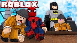 A NOVA FÁBRICA de SUPER HERÓIS do ROBLOX *marvel e dc* → Hero Inc 🎮