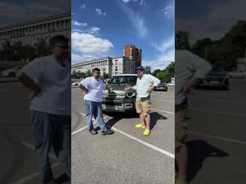 Протестировали новый Land Rover Defender