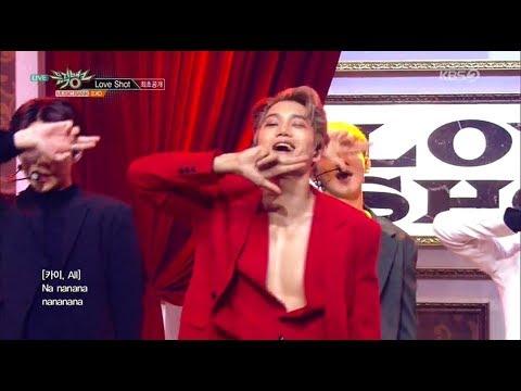 181214 뮤직뱅크 - EXO(Love Shot)