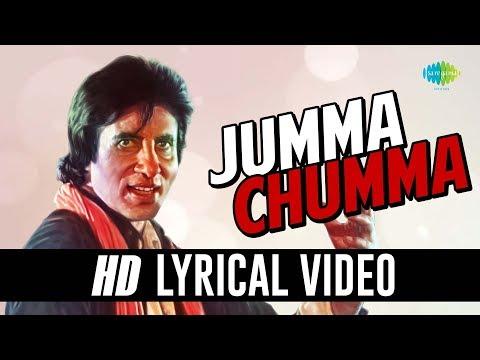 Jumma Chumma De De | Lyrical | Amitabh Bachchan | Kimi Katkar | Hum