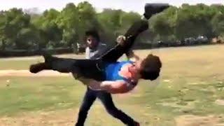 Rambo - Tiger Shroff Stunt Training