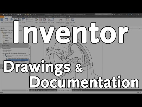 Inventor Drawings & Documentation | Autodesk Virtual Academy