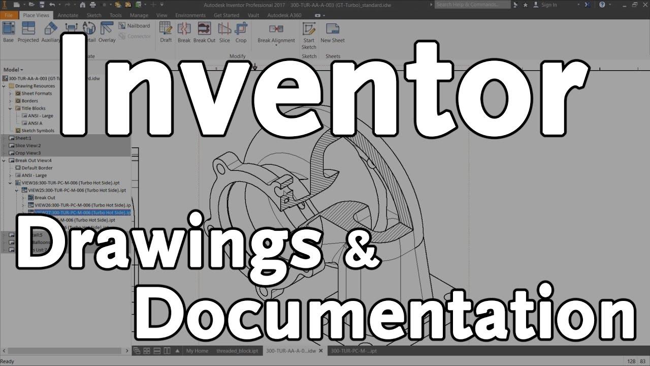 Autodesk Inventor Drawings & Documentation | KETIV