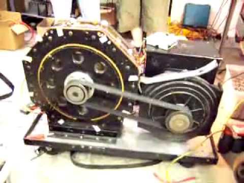 047205b3dcb Motor Magnético girando a 2500 rpm sin necesidad de refrigeración ...
