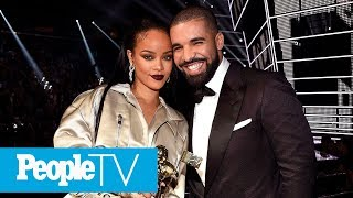 rihanna reveals she drake dont have a friendship now opens up about new boyfriend peopletv