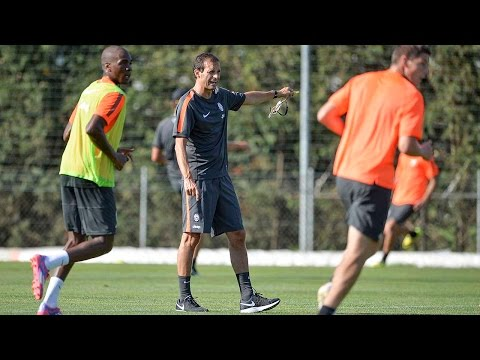 Il primo allenamento di Allegri alla Juventus - Allegri's first Juventus training session