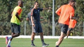 Il primo allenamento di Allegri alla Juventus - Allegri's first Juventus training session