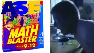 Angry German Kid plays Math Blaster Ages 9-12