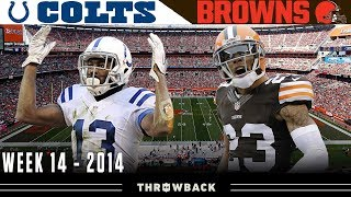 """A """"Lucky"""" Comeback! (Colts vs. Browns, 2014)"""