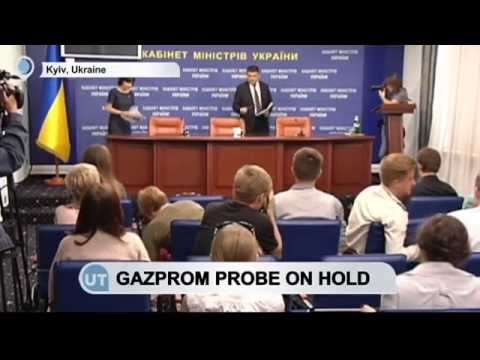Gazprom Probe On Hold: EU competition commissioner says Gazprom probe on hold