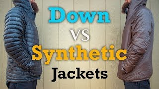 Down Vs Synthetic Jackets - What&#39s the Best for you