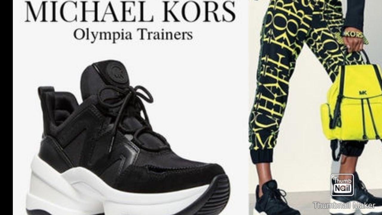 michael kors olympia trainer