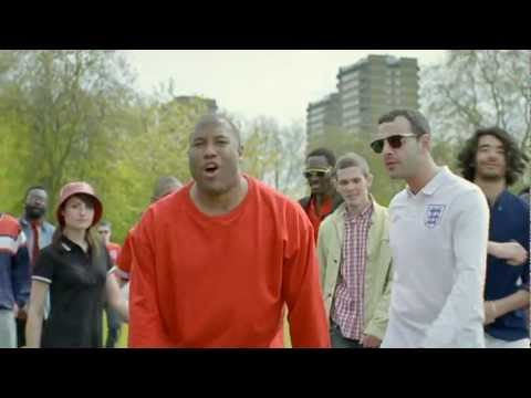 MARS TV ADVERT FEAT' JOHN BARNES - WORLD IN MOTION