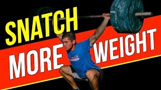 Snatch MORE Weight! (Drills To Improve Your Snatch Lockout)