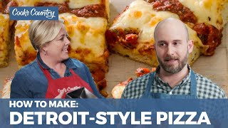 How to Make Crispy, Chewy Detroit-Style Pizza