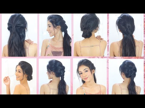 Top 4 Amazing Hairstyles For Medium and Long Hair | step by step Hairstyles 2018 thumbnail