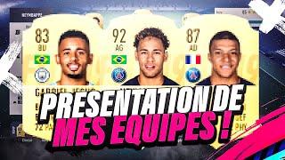 FIFA19 | PRÉSENTATION DE MES ÉQUIPES #02 ! ULTIMATE TEAM