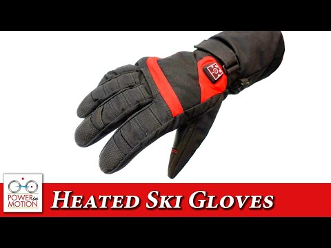 MotionHeat Heated Ski Gloves Preview - Calgary | Edmonton | Vancouver | Winnipeg | Canada