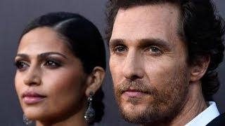 La Verdad Sobre El Extraño Matrimonio De Matthew McConaughey
