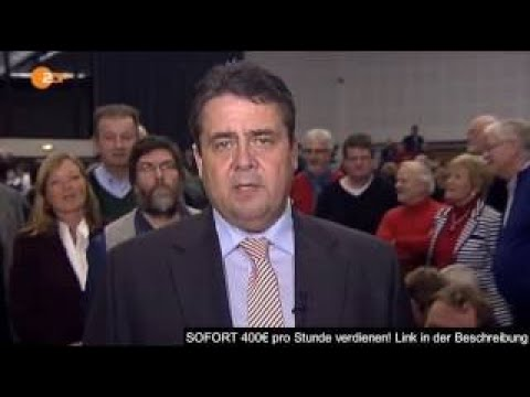 Sigmar Gabriel im Streit-Interview mit Marietta Slomka ZDF heute 28.11.