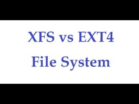 Difference Between Ext4 and XFS Filesystem in Linux, Video No - 2