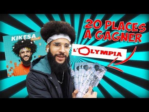 Youtube: ON CACHE DES PLACES POUR L'OLYMPIA DE SAMEDI!!