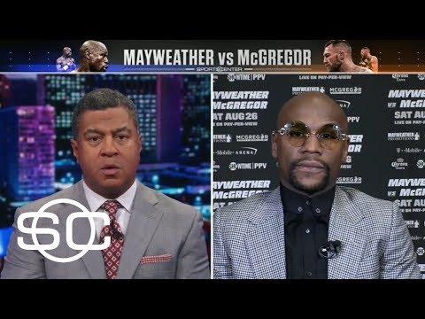 Mayweather calls McGregor