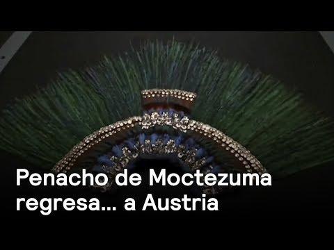 Museo de Austria vuelve a exhibir penacho de Moctezuma - cultura - En Punto con Denise Maerker