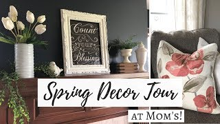 SPRING DECOR TOUR 2018 | MOM