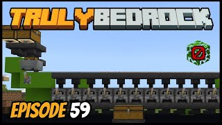 Super Smelter And Bugged Items! - Truly Bedrock (Minecraft Survival Let's Play) Episode 59