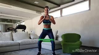Тренировка #1. Комплекс упражнений для дома от @dianaromanenco