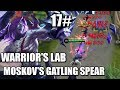 WARRIOR S LAB MOSKOV S EMBLEM AND CORE GEAR EXPERIMENT