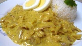 Receta: Aji De Gallina (pollo) Peruano (super Facil Y Rica!)