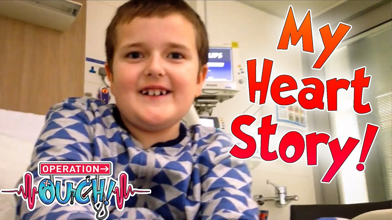Hayden's Heart Condition Story! ❤️ | Ouch Patients | Science for Kids | Operation Ouch