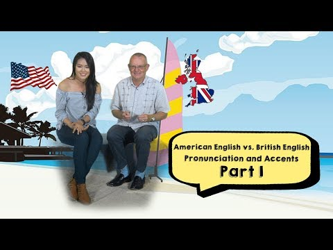 American English🇺🇸 vs. British English🇬🇧: Pronunciation and Accents PART 1
