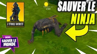 ¡Salva al Ninja La Estrella Oculte! Fortnite Save the World #54